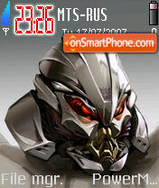 Transformers Movie 2008 es el tema de pantalla