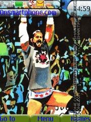 WWE CM Punk Watercolor es el tema de pantalla