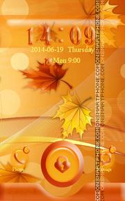 Autumn Leaves theme screenshot
