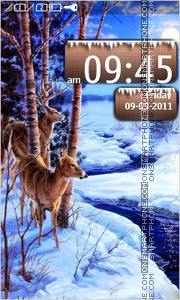 Winter 24 theme screenshot