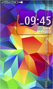 Galaxy Note 03 theme screenshot