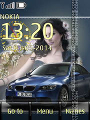 BMW 15 theme screenshot
