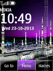 Muslim mosque tema screenshot