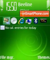 WM 6 v10 es el tema de pantalla