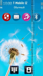 Dandelion 05 tema screenshot