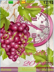 Grapes tema screenshot