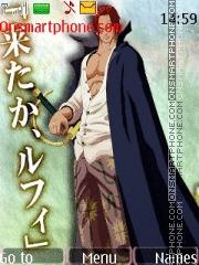 Скриншот темы Shanks One Piece