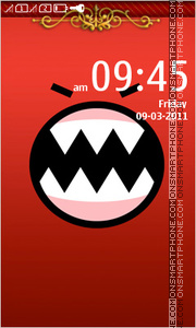 Monster 03 theme screenshot