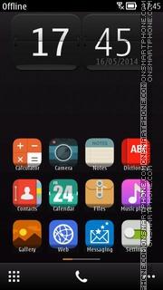 Dark Android es el tema de pantalla