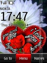 You and Me Love tema screenshot