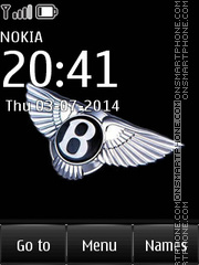 Bentley 16 tema screenshot