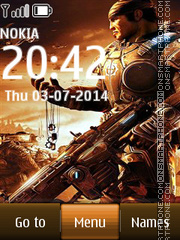 Gears of War 07 theme screenshot
