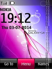Samsung Galaxy S5 tema screenshot