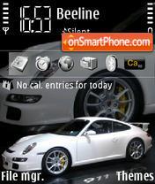 Скриншот темы Porsche 911 GT3