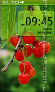 Cherry 05 tema screenshot