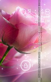 Pink Rose theme screenshot