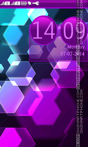 Abstract Mosaic theme screenshot