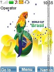 WorldCup2014 es el tema de pantalla