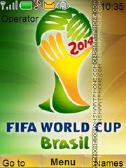 Fifaworldcup es el tema de pantalla