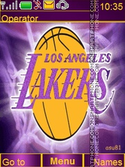 Lakers theme screenshot