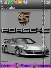 Fantas Porsche theme screenshot