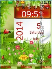Wildflowers theme screenshot