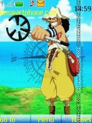 Скриншот темы Usopp One Piece