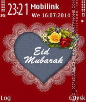 Eid mubarak theme screenshot