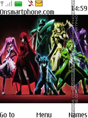 Akame ga Kill theme screenshot