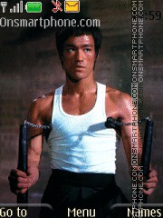 Bruce Lee tema screenshot