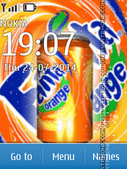 Fanta Theme-Screenshot
