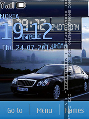 Maybach theme screenshot