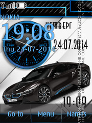 BMW i8 tema screenshot