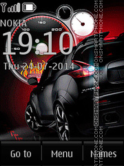 Nissan Juke R theme screenshot