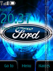 Ford Emblem tema screenshot