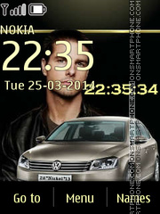 Volkswagen Passat theme screenshot