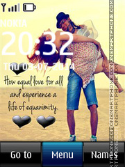 Equal Love theme screenshot
