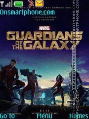 Guardians of the Galaxy theme screenshot