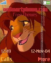 Simba 2 theme screenshot