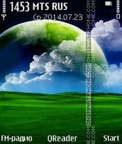 Green-World theme screenshot