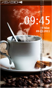 Cup of Coffee 02 tema screenshot