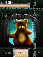 Bear 11 tema screenshot