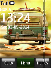 Vintage Volkswagen theme screenshot