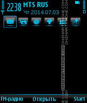 Bluish es el tema de pantalla