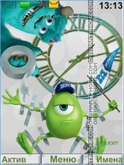 Monsters University theme screenshot