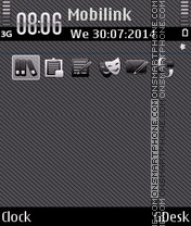 Gray black theme screenshot