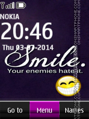 Smile 2014 tema screenshot