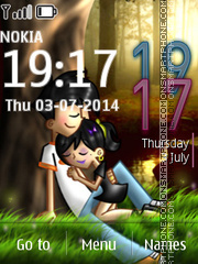 Romantic 07 theme screenshot
