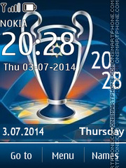 UEFA Champions League 02 theme screenshot