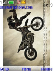 Скриншот темы Motocross